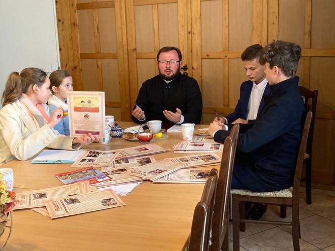 Zebranie Zarządu BMP w Lubinie. Praca nad nowym wydaniem miesięcznika Głosu Wiary.